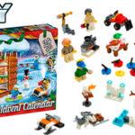 Chollo Calendario de Adviento 2019 de LEGO City Town con 7 minifiguras