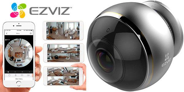 Chollo Cámara de seguridad Ezviz Mini Pano 360º con Wi-Fi