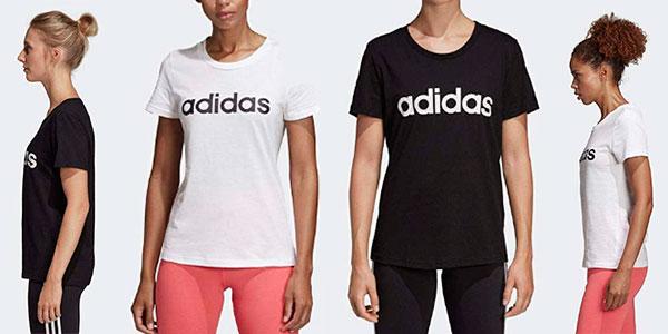 Chollo Camiseta Adidas Essentials Linear para mujer