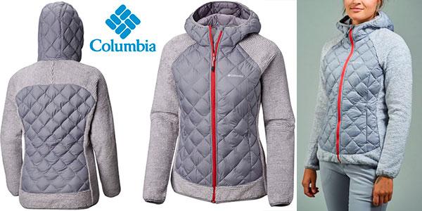 Chollo Forro polar Columbia Techy Hybrid para mujer