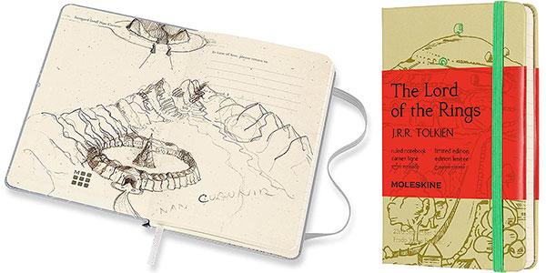 Chollo Cuaderno Moleskine El Señor de los Anillos Edición Limitada