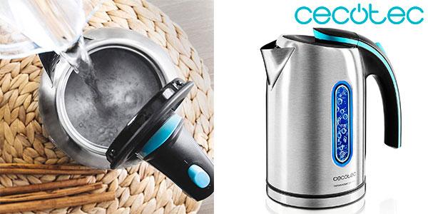 Chollo Hervidor de agua Cecotec ThermoSense 220 de 1.630 W y 1,2 litros