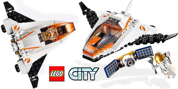 Chollo Set Lanzadera espacial - Misión: Reparar el satélite de LEGO City