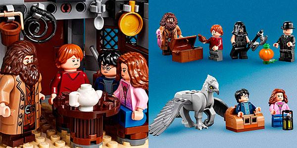 Set Cabaña de Hagrid: Rescate de Buckbeack de LEGO Harry Potter con 6 minifiguras barato