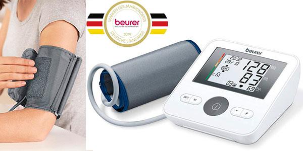 Chollo Tensiómetro de brazo Beurer BM27 con pantalla LCD y detección de arritmias