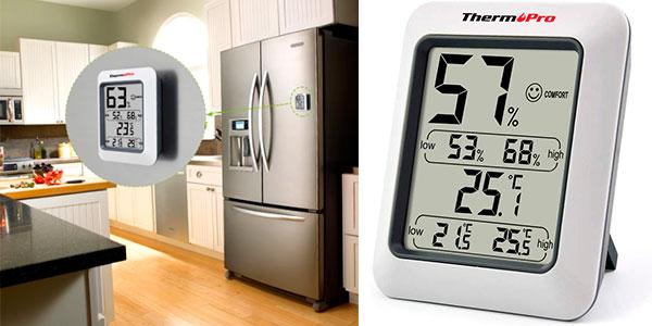 Chollo Termómetro higrómetro digital ThermoPro TP50 para interior