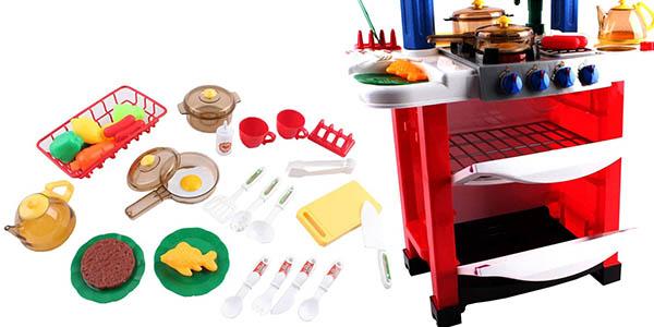 cocina infantil para el juego simbólico Happy Little Chef chollo