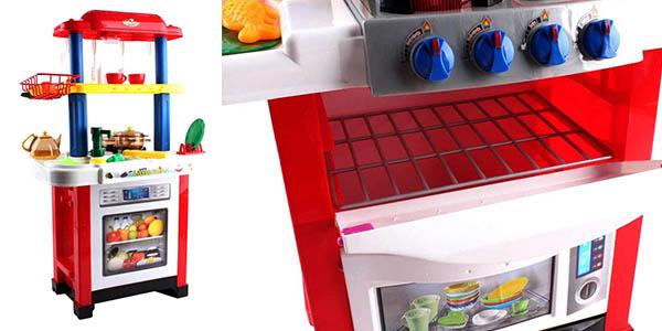 cocina para juego simbólico para niños Happy Little Chef relación calidad-precio estupenda