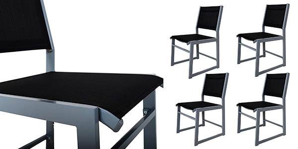 conjunto de sillas de exterior Chicreat barato
