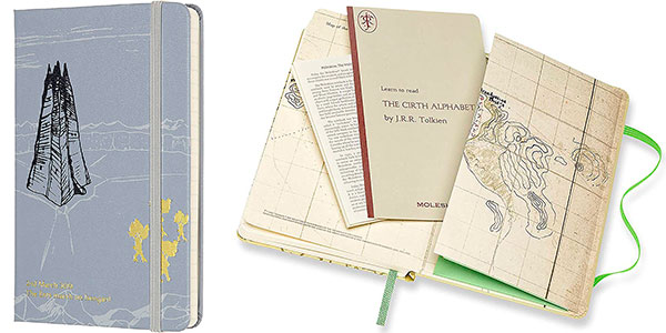 Cuaderno Moleskine El Señor de los Anillos Edición Limitada barato