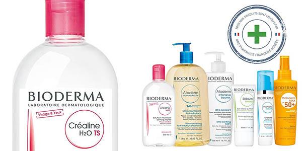 desmaquillante Bioderma Crealine Ts H2O oferta