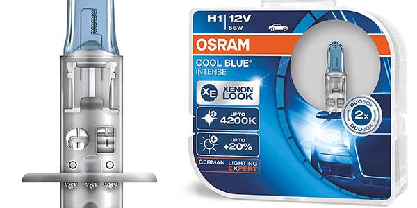 Osram OCBI1-DUO Cool Blue Intense H1 faros halógenos chollo