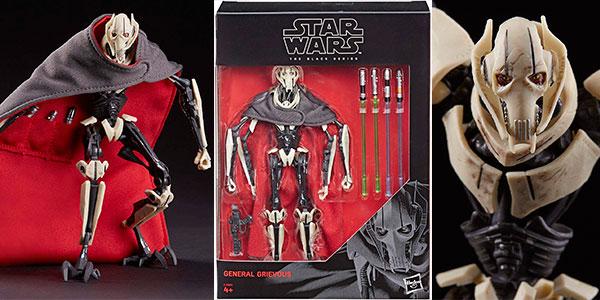 General Grievous de 18,4 cm de Star Wars barato