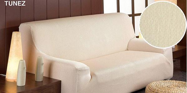 Funda elástica para sofá Martina Home Tunez barata en Amazon