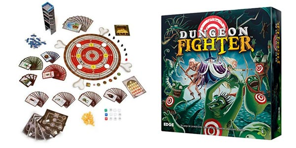 Juego de mesa Dungeon Fighter de Edge Entertainment (EDGDF01) barato en Amazon
