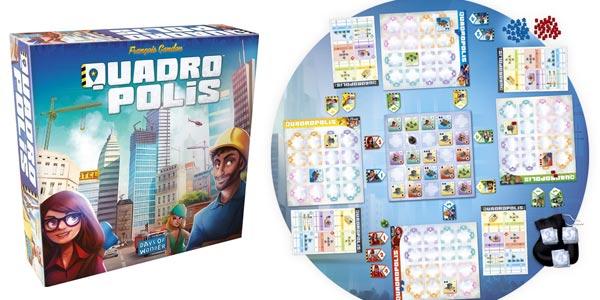 Juego de mesa Quadropolis (Days of Wonder DO8501) barato en Amazon