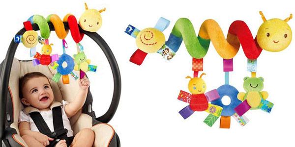 Juguete colgante GZQES espiral de animales para cochecito o cuna de bebé barato en Amazon