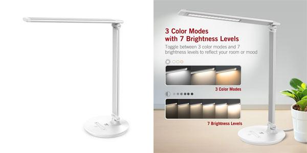 Comprar lámpara LED Taotronics TT DL034 barata en Amazon