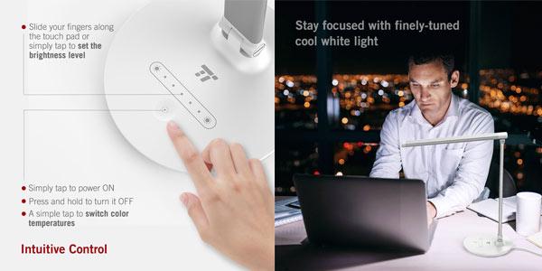 Comprar lámpara LED Taotronics TT DL034 a buen precio en Amazon