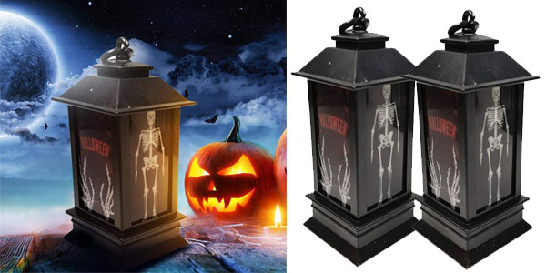 Lámpara LED de Halloween Eroihe chollo en Amazon