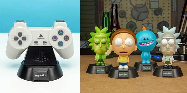 lámparas de mesa con diseños originales de videojuegos y películas chollos