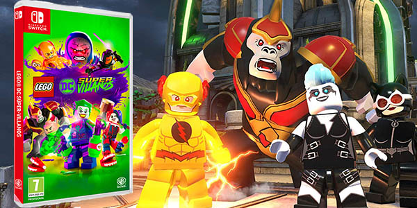 LEGO DC Super Villanos para Nintendo Switch