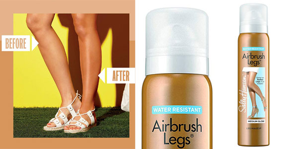 Maquillaje en Spray para piernas Sally Hansen Airbrush Legs de 100 ml barato en Amazon