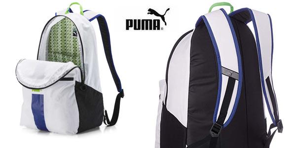Mochila unisex Puma Originals Daypack Rucksack Weiss chollo en Amazon