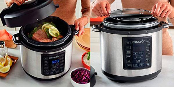 Olla Crock-Pot Multicooker Express de 5 litros barata