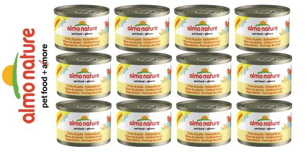 Pack x12 Almo Nature Dog HFC Cuisine Pollo, Zanahoria y Arroz de 280 g/ud chollo en Amazon