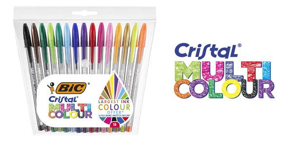 Pack x 5 bolis BIC Cristal Multicolour baratos en Amazon