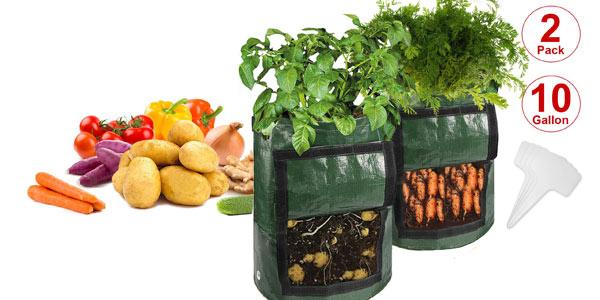 Pack x2 Bolsas de Cultivo N NEWKOIN de 38L/ud baratas en Amazon