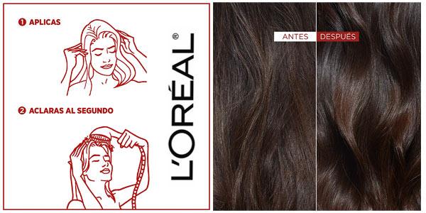 Pack x3 Mascarilla instantánea L'Oréal Paris Elvive Color Vive Rapid Reviver chollo en Amazon