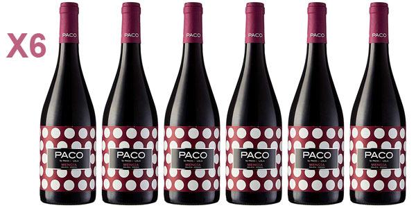 caja 6x Paco & Lola Mencía 2016 D.O. Valdeorras Vino Tinto de 750 ml barata en Amazon