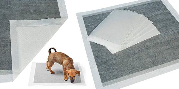 Pack de empapadores de adiestramiento AmazonBasics para perros barato