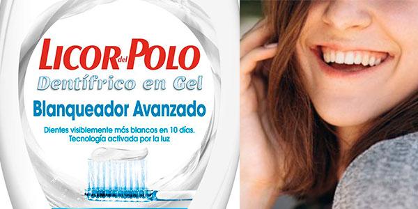 Pack de pasta de dientes Licor del Polo 2 en 1 blanqueadora en oferta