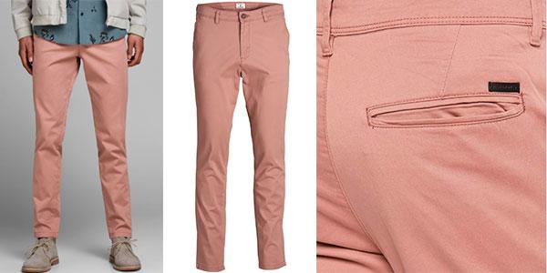 Pantalones chinos Jack & Jones Marco Bowie para hombre baratos