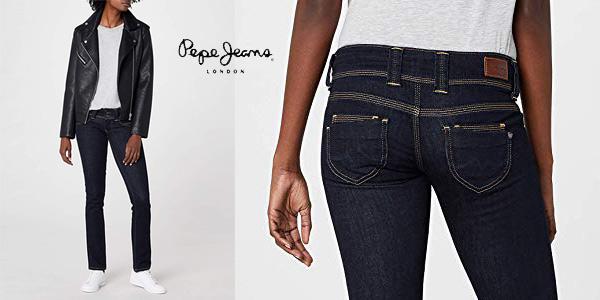 Pantalones vaqueros Pepe Jeans Venus para mujer baratos en Amazon