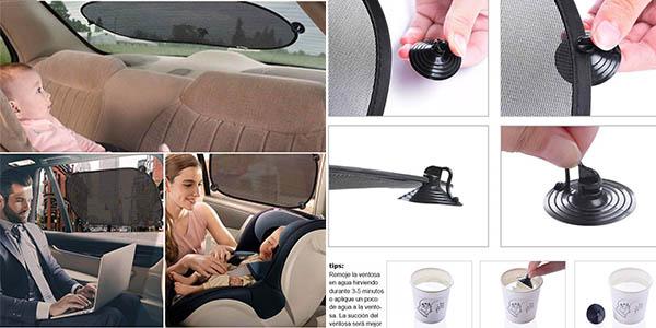 parabrisas parasol para las ventanas del coche pack ahorro
