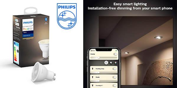 Philips hue White GU10 bombilla LED barata
