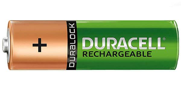Pack x4 pilas recargables Duracell Recharge Ultra AA o AAA prerecargadas en Amazon