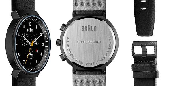 Reloj cronógrafo Braun para hombre barato