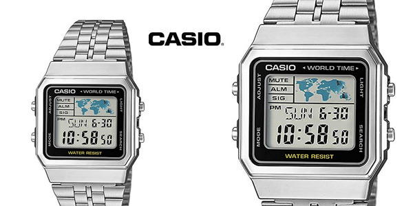 Reloj digital Casio A500WEA-1EF para hombre barato en Amazon