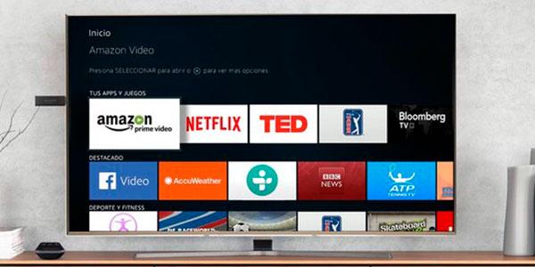 Reproductor de contenido multimedia Amazon Fire TV Stick con Alexa en oferta