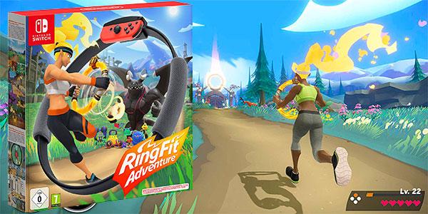 Reserva Ring Fit Adventure para Switch al mejor precio