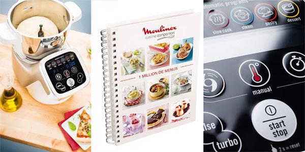 Robot de cocina Moulinex Cuisine Companion HF802A chollo en Amazon