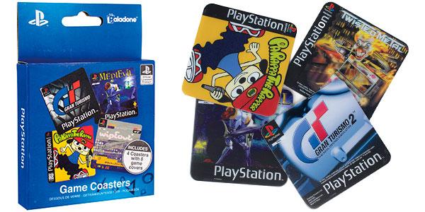 Juego de posavasos Playstation barato