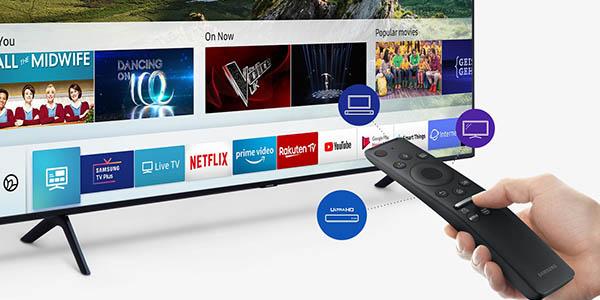 Smart TV Samsung QEQ60R UHD 4K HDR barato