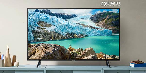 "Smart TV Samsung 55RU7172 UHD 4K HDR de 55"" barato"