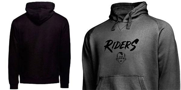 Sudadera Movistar Riders Grafiti con capucha para hombre barata